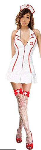 Sexy Nurse Costume – White – Small