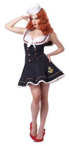 California Costumes Women's Nautical Doll Costume