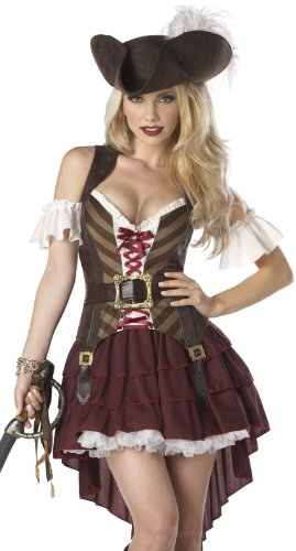 California Costumes Women's Eye Candy – Sexy Swashbuckler Costume