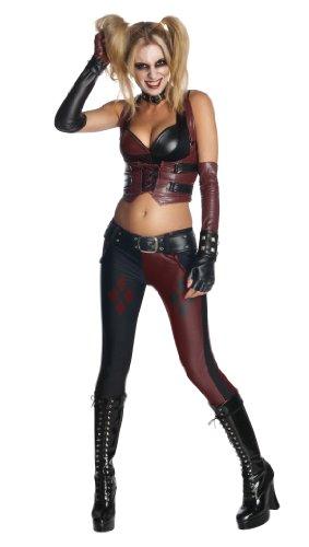 Batman Arkham City Secret Wishes Sexy Harley Quinn Costume