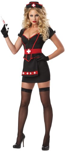 California Costumes Women's Eye Candy – Cardiac Arrest Adult