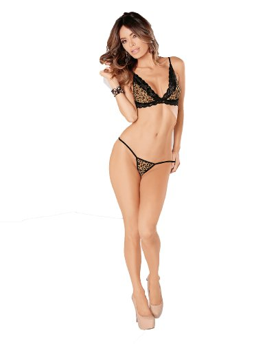 Escante Women's Must Have Bra and G String