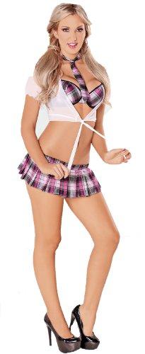 Escante Womens Sweet School Girl Costume