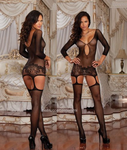 Small/Medium/Large Sexy Bodystocking Lingerie Dress Outfit ONE SIZE