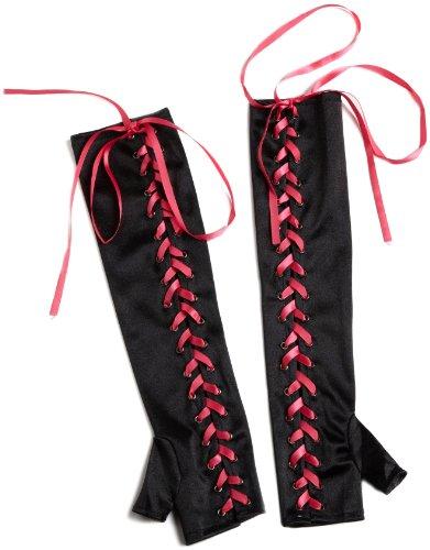 Seven Til Midnight Women's Lace-Up Gloves
