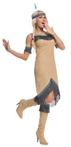 Underwraps Women's Indian Maiden
