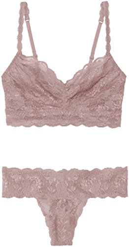 Cosabella Women's Never Say Never Sweetie Soft Bra & Cutie Thong Set