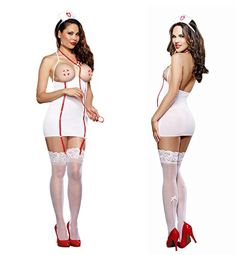 Plus Size Lingerie Sexy Role Play Costume Dress XL-2X-3X One Size