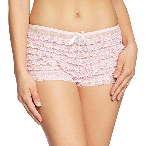 Leg Avenue Micromesh Lace Ruffle Tanga Short