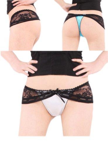 G-string Panties Sexy Underwear Bodyzone Lingerie Thong Usaf108010whiteblack