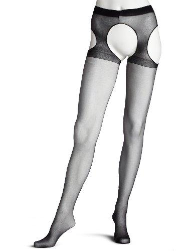 Leg Avenue Women's Queen Sheer Garter Belt Panty Hose #1901Q