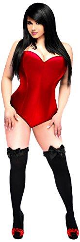 Daisy Corsets Women's Lavish Side Zipper Corset Romper