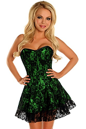 Daisy Corsets Women's Lavish Lace Corset Dress
