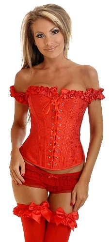 Daisy Corsets Women's Off The Shoulder Sleeve Corset