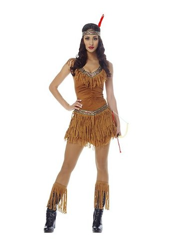 Native American Maiden Adult Costume