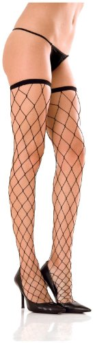 Rene Rofe Women's Fence Net Thigh Higs