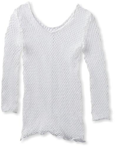 Leg Avenue Women's Lycra Industrial Fishnet Long Sleeves T-Shirt