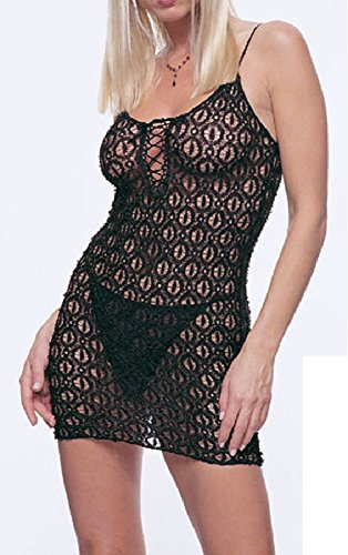 Leg Avenue Lace Dress and G-string