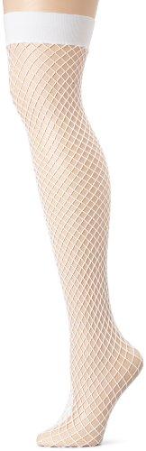 Leg Ave Women's Lycra Industrial Net Thigh Highs-Syle #9036