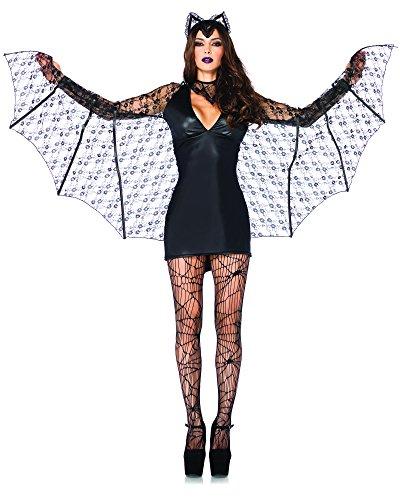 Leg Avenue Women's 3 Piece Moonlight Bat
