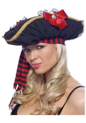 Chiffon Ruched Pirate Hat