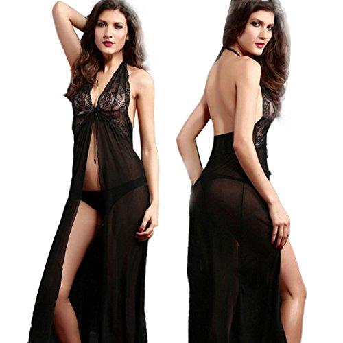Sunward Sexy Women Temptation Sleepwear, Lingerie Underwear+T Pants Plus Size