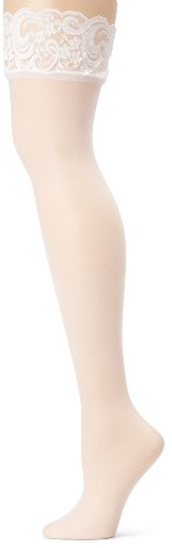 Leg Avenue Women's Queen Sheer Thigh Highs with Lace Top #1011Q