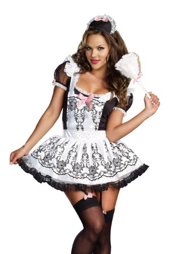Dreamgirl Maid To Order French Maid Costume