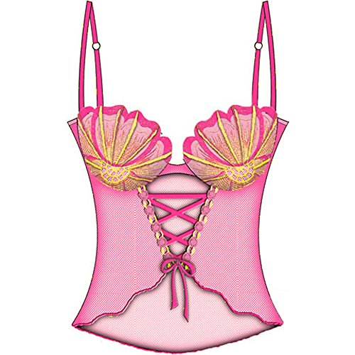 Sexy Seashell Padded Underwire Cami 34B Pink