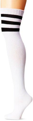 Leg Avenue Women's Athlete Thigh Hi with 3 Stripe Top