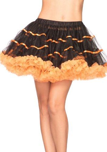 Leg Avenue Women's Layered Striped Petticoat