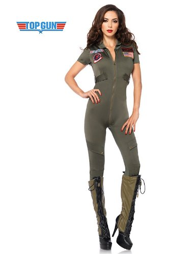 Leg Avenue Women's Top Gun Flight Suit