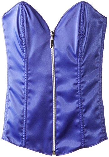 Escante Women's Zip Me Up and Lace Me Down Corset
