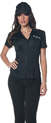 Underwraps Women's Fbi Fitted Shirt