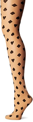 Leg Avenue Women's Card Suit Pantyhose