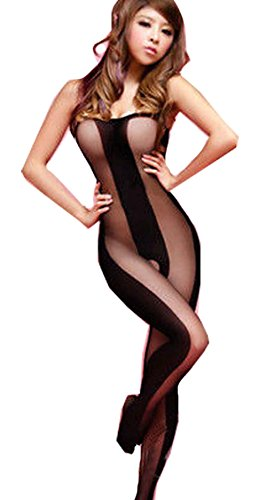 Sexy Fishnet Open Crotch Crotchless Corest Bodystocking Bodysuit Tights Lingerie