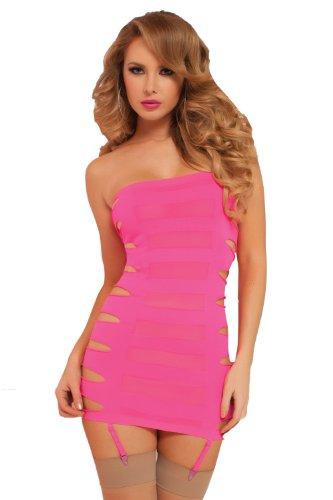 Seven Til Midnight Women's Seamless Slash Side Tube Dress