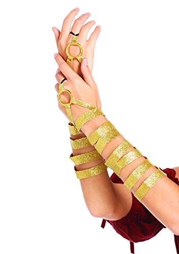 Leg Avenue Women's Golden Arm Wraps