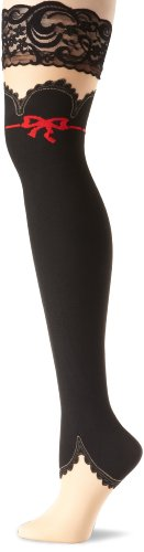 Leg Avenue Women's Sheer Stay Up Lace Top Thigh Highs