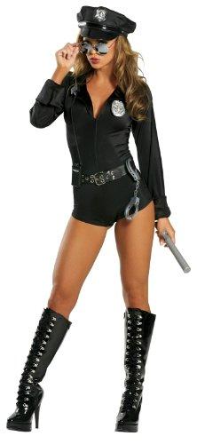 Roma Costume 7 Piece Lady Cop