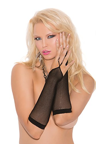 Elegant Moments Women's Fishnet Arm Warmers