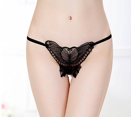 Women's Sexy Butterfly Bandage Naughty Panties (Pink)