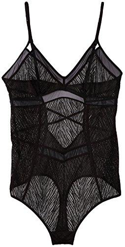 Calvin Klein Women's CK Black Primal Bodysuit
