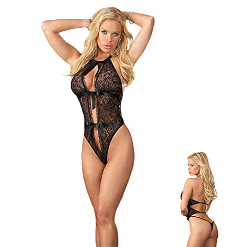 Wellsextoys Sexy Lingerie Breasts Perspective Sexy Costumes Erotic Lingerie V-neck