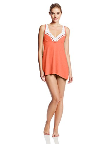 Bottoms Out Women's Knit Eyelet Lace Nightie