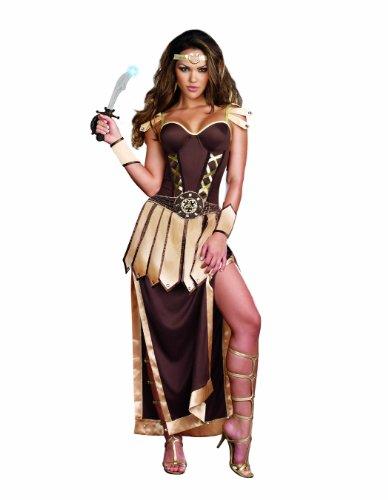 Dreamgirl Women's Sexy Gladiator, Warrior Costume, Remember The Trojans