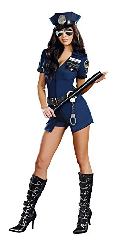 Dreamgirl Women's Sexy Police, Cop Costume, Officer Sheila B. Naughty