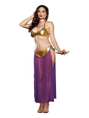 Dreamgirl Women's Plus-Size Harem Slave Set