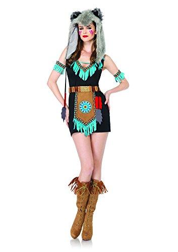Leg Avenue Women's 4 Piece Wolf Warrior