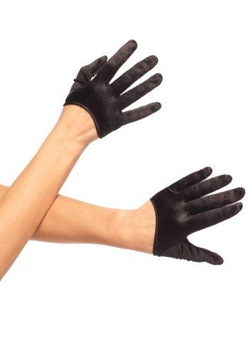 Leg Avenue Mini Cropped Satin Gloves